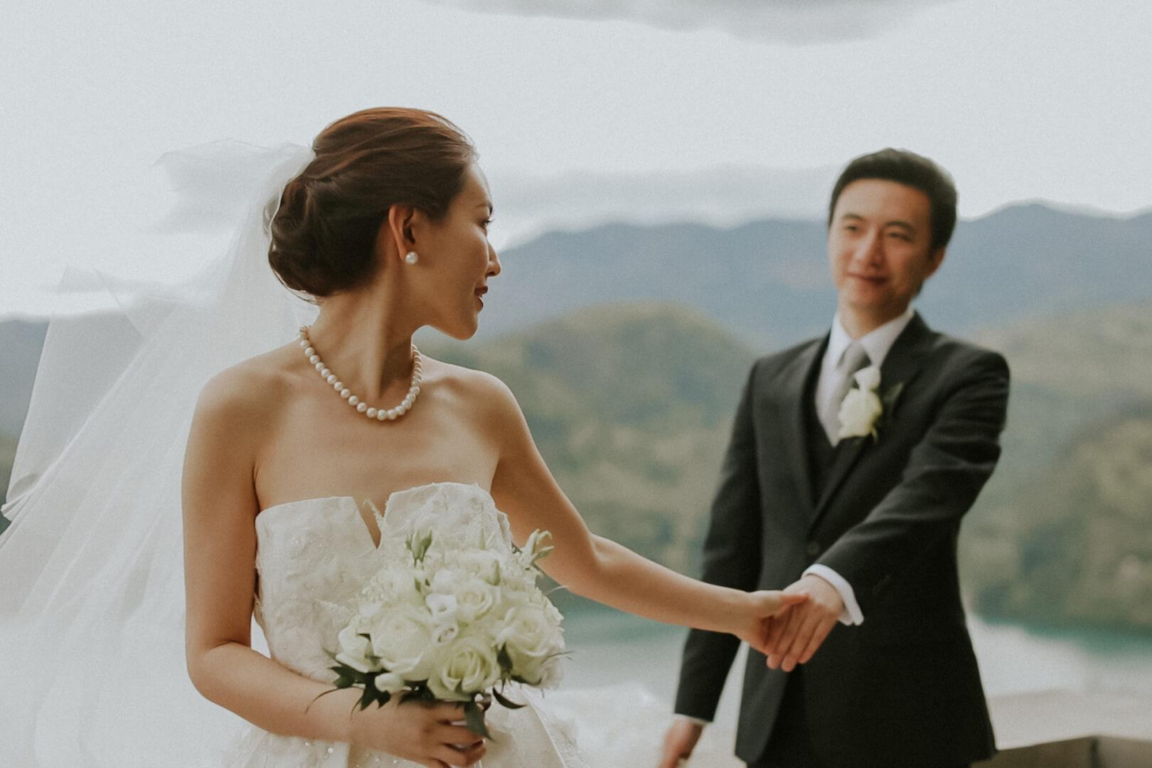 Poroka na Bledu Olivia & Ziyao